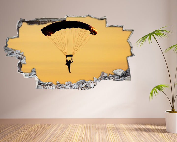 Paragliding Sky Living Room Decal Vinyl Wall Sticker H908