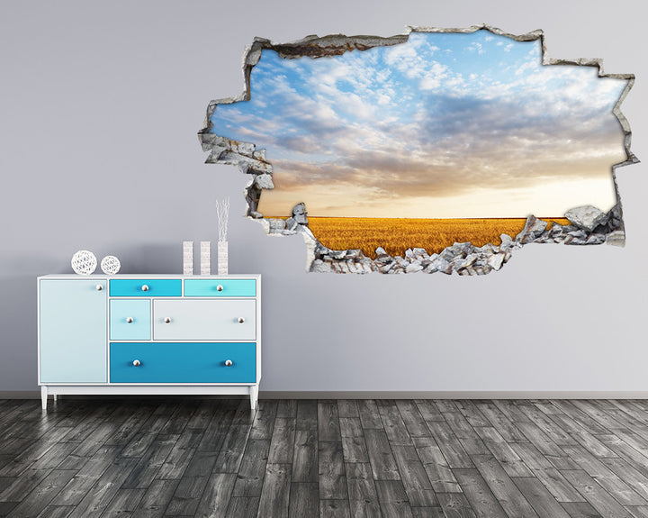 Meadow Sky Hall Decal Vinyl Wall Sticker H909