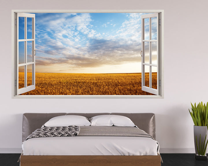 Meadow Sky Bedroom Decal Vinyl Wall Sticker H909w