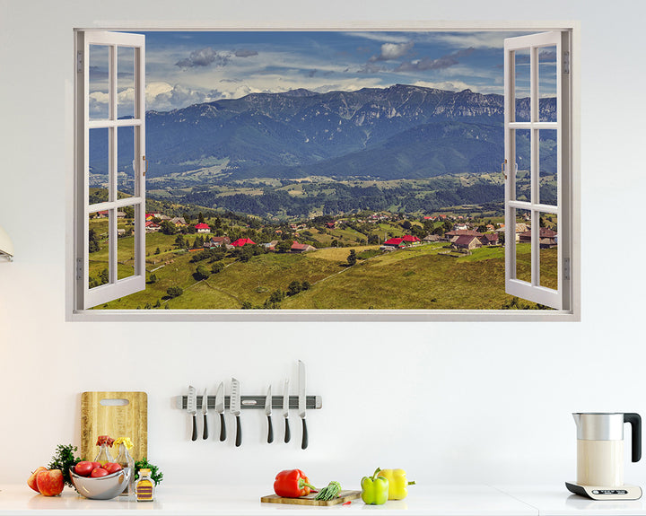 Countryside Hills Kitchen Decal Vinyl Wall Sticker H918w