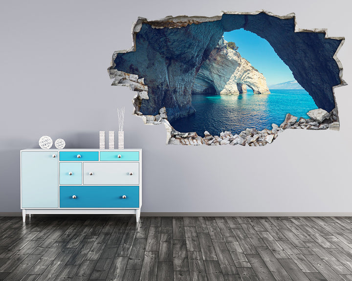 Sea Coast Caves Hall Decal Vinyl Wall Sticker H941