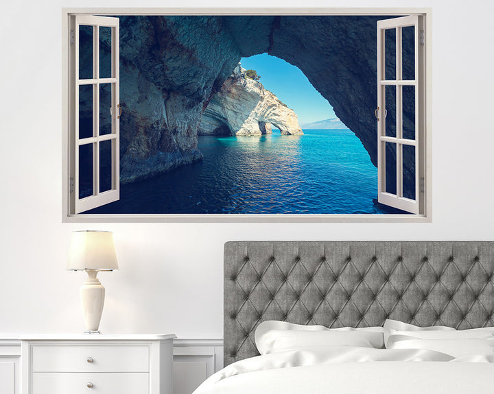 Sea Coast Caves Bedroom Decal Vinyl Wall Sticker H941w