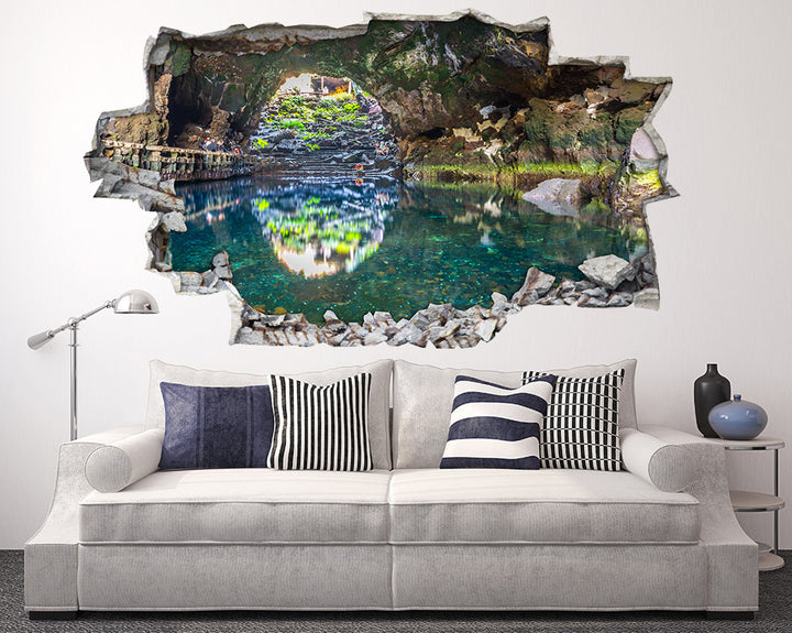 Mountain Cave Living Room Decal Vinyl Wall Sticker H946