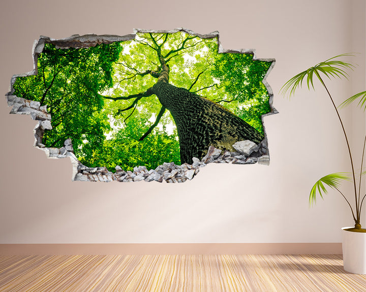 Nature Forest Tree Hall Decal Vinyl Wall Sticker H954