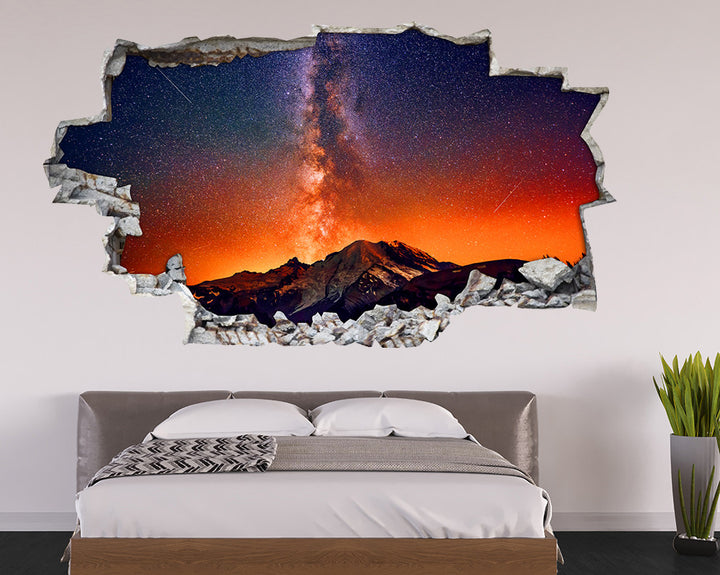 Shooting Stars Galaxy Bedroom Decal Vinyl Wall Sticker I147