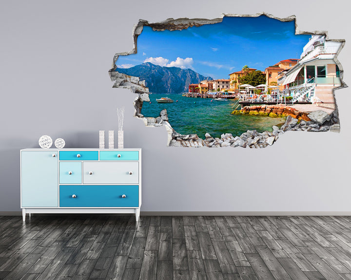 Holiday Paradise Hall Decal Vinyl Wall Sticker I233