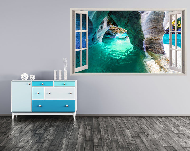Paradise Sea Caves Hall Decal Vinyl Wall Sticker I260
