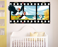 Puffin Rock Birds Nursery Decal Vinyl Wall Sticker M141