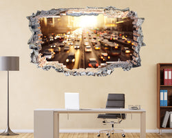 City Cars Traffic Office Decal Vinyl Wall Sticker N852i