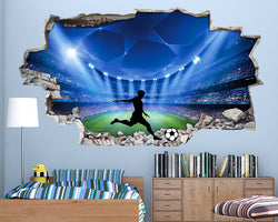 f1215103 Smashed Wall Vinyl Decal Stickers | Love Sticker UK