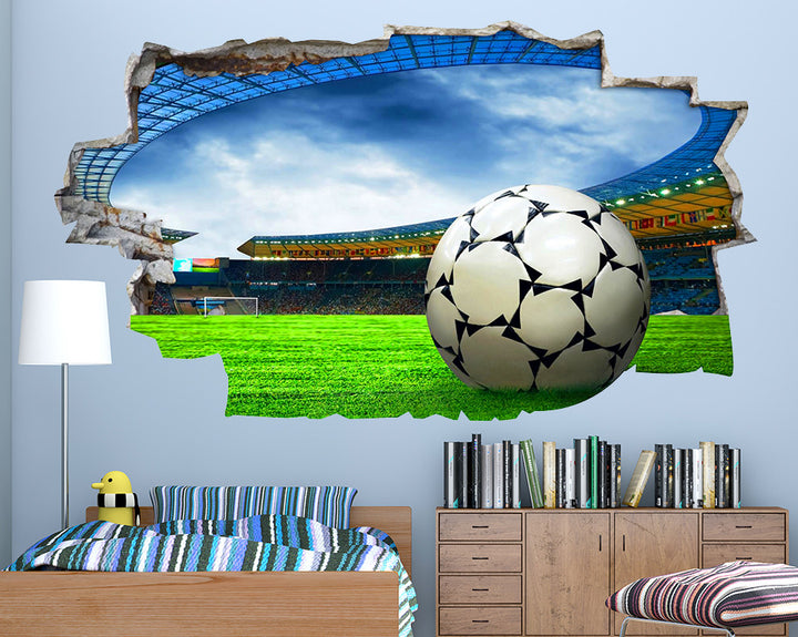 Football Game Boys Bedroom Decal Vinyl Wall Sticker Q158