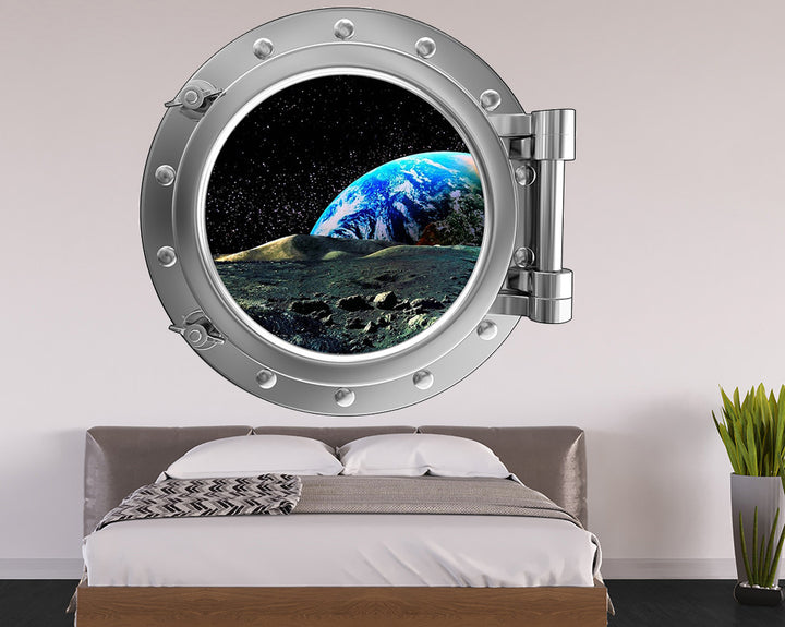 Planet Space Bedroom Decal Vinyl Wall Sticker Q186