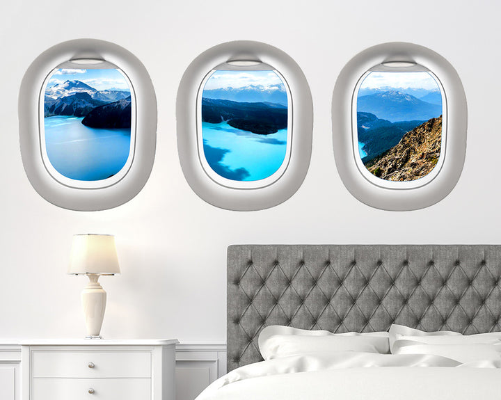 Scenic Sea Bedroom Decal Vinyl Wall Sticker Q216