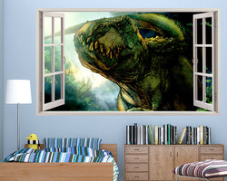 T-Rex Dinosaur Boys Bedroom Decal Vinyl Wall Sticker Q316