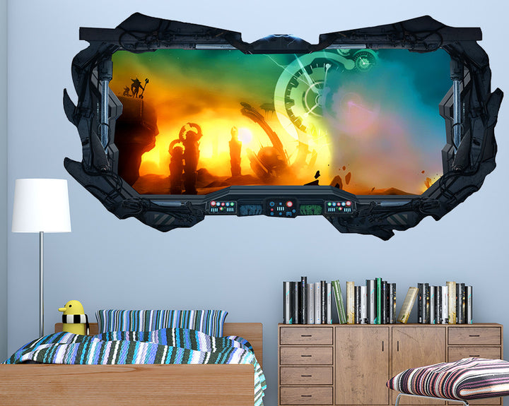 Game Fantasy Boys Bedroom Decal Vinyl Wall Sticker Q389