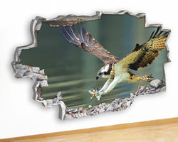 Q505 Osprey Bird Prey Cool Living Canvas Picture Poster Wall Art Stickers Room