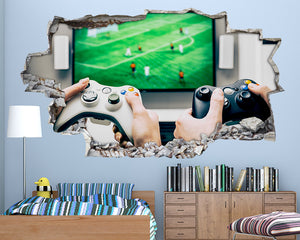 Xbox Gaming Boys Bedroom Decal Vinyl Wall Sticker Q631