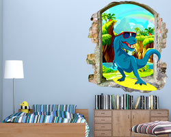 Cartoon Cool Dinosaur Boys Bedroom Decal Vinyl Wall Sticker Q680