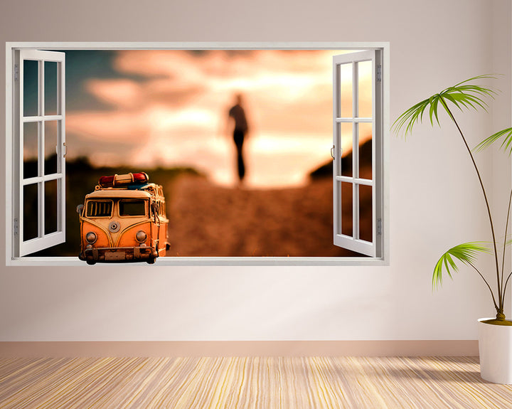 Roadtrip Van Hall Decal Vinyl Wall Sticker Q768