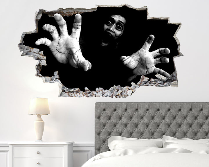 Scary Horror Bedroom Decal Vinyl Wall Sticker Q870