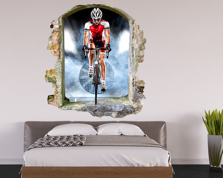 Bicycle Race Sport Bedroom Decal Vinyl Wall Sticker Q957