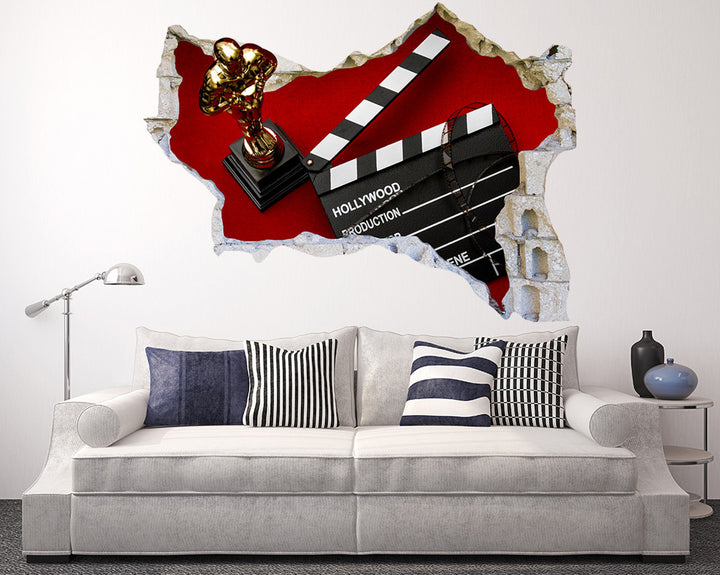 Film Production Award Living Room Decal Vinyl Wall Sticker Q990