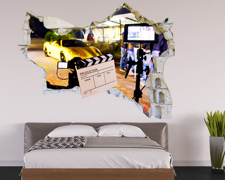Film Cool Car Production Bedroom Decal Vinyl Wall Sticker Q995