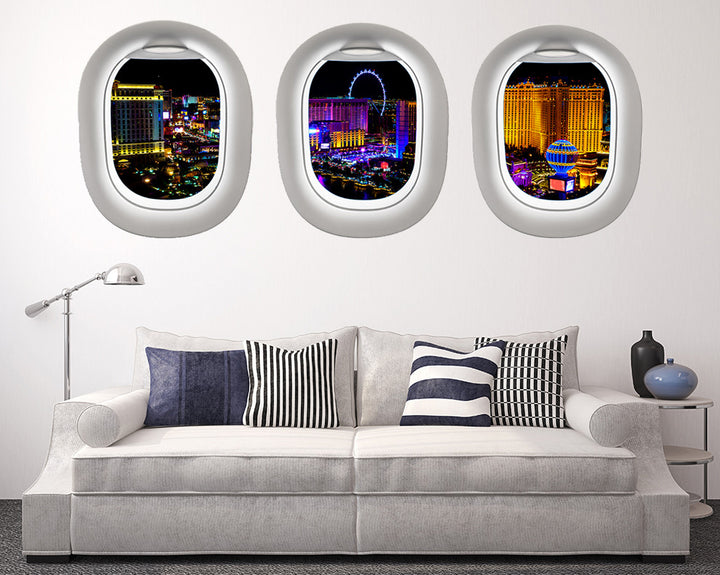 London Colourful Lights Living Room Decal Vinyl Wall Sticker R165