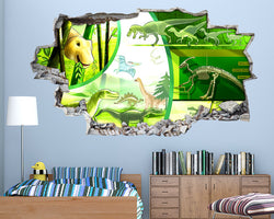 Dinosaurs Cool Species Boys Bedroom Decal Vinyl Wall Sticker R807
