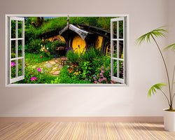 Hobbit House Nature Hall Decal Vinyl Wall Sticker R998