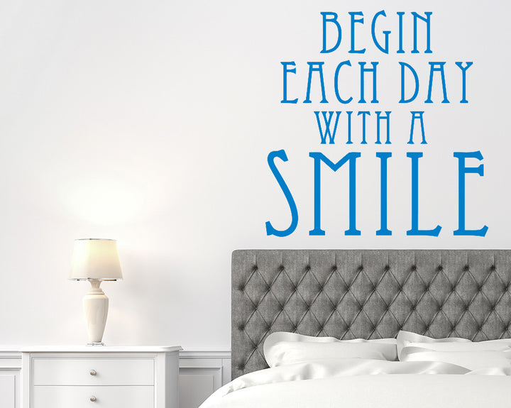 Smile Decal Vinyl Wall Sticker