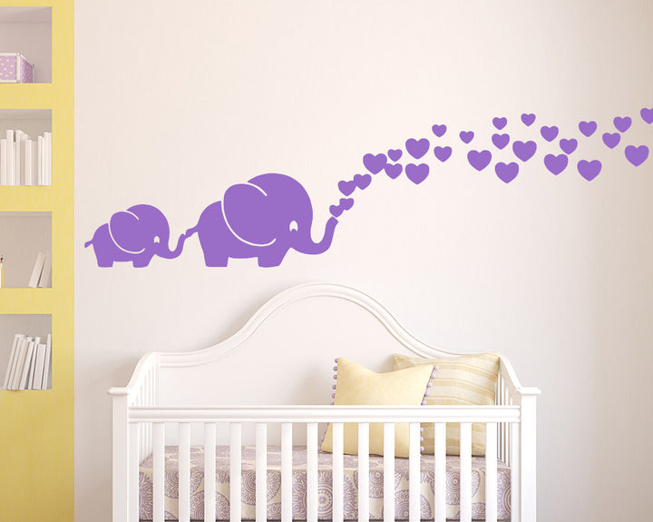 Elephant Decal Vinyl Wall Sticker