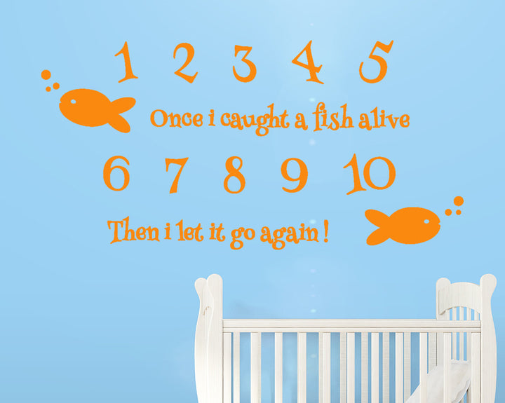 Fish Decal Vinyl Wall Sticker