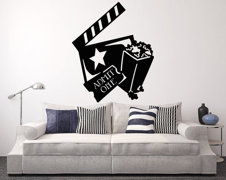 Cinema Decal Vinyl Wall Sticker