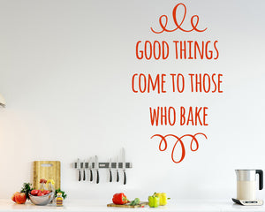 Baking Decal Vinyl Wall Sticker