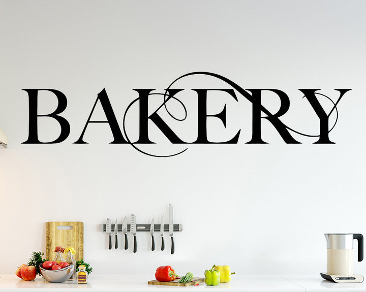 Bakery Decal Vinyl Wall Sticker