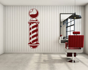 Barber Decal Vinyl Wall Sticker