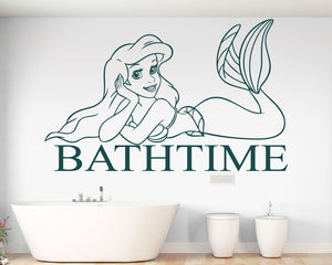 Mermaid Decal Vinyl Wall Sticker