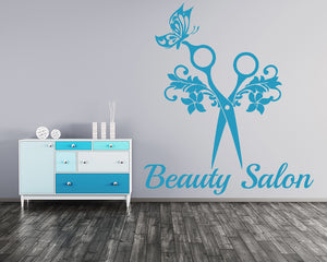 Beauty Decal Vinyl Wall Sticker