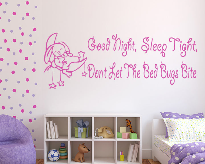 Sleep Tight Decal Vinyl Wall Sticker