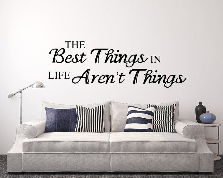 Quote Decal Vinyl Wall Sticker