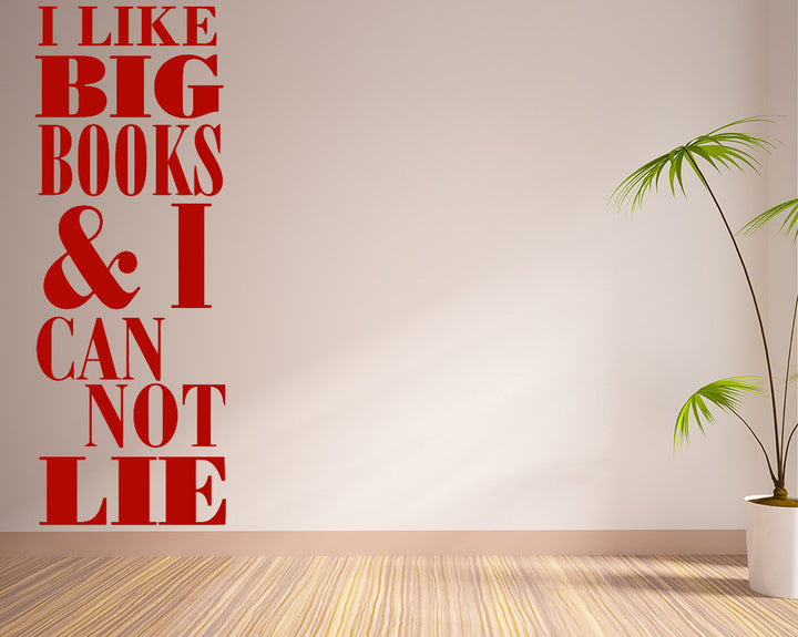 Book Quote Decal Vinyl Wall Sticker