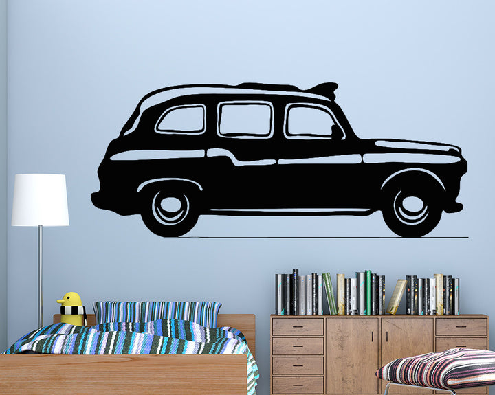 Taxi Decal Vinyl Wall Sticker