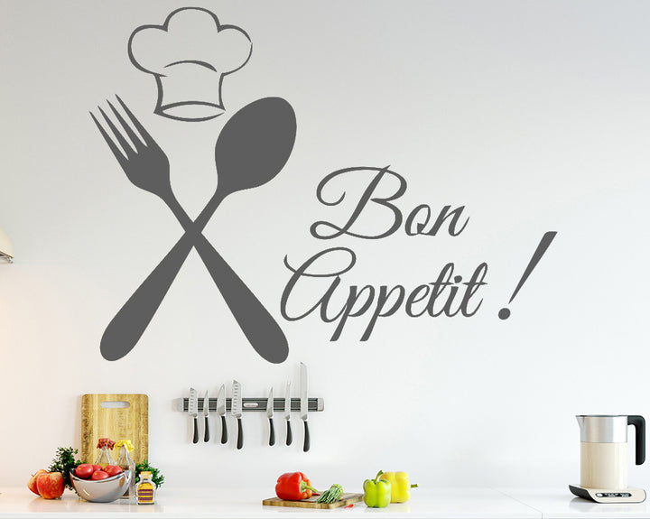 Food Decal Vinyl Wall Sticker