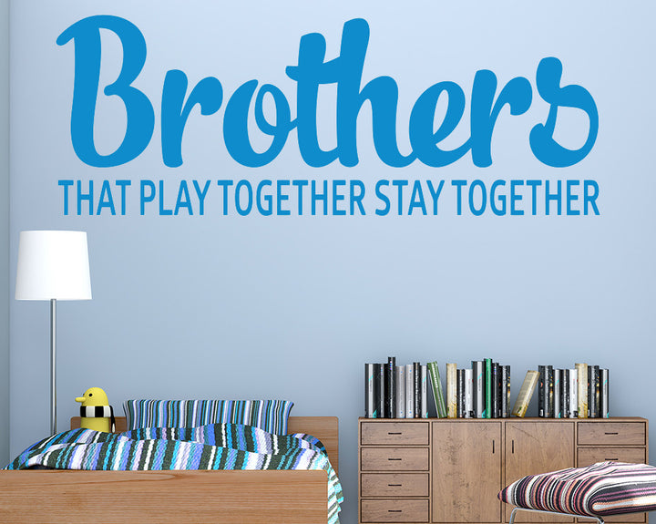 Brother Decal Vinyl Wall Sticker