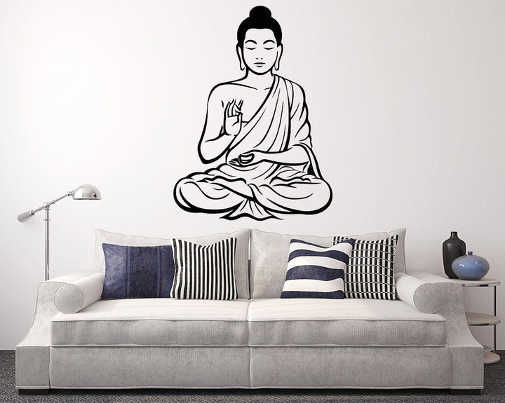 Buddha Decal Vinyl Wall Sticker