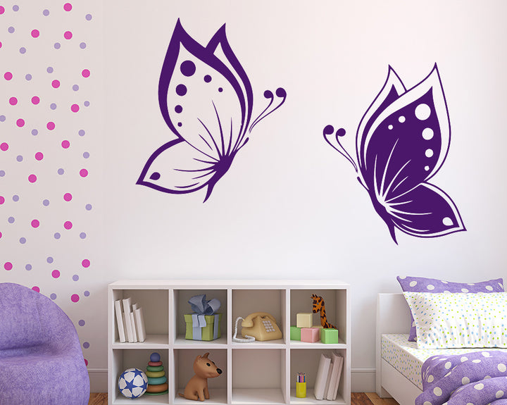 Butterfly Decal Vinyl Wall Sticker
