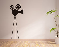 Film Camera Decal Vinyl Wall Sticker
