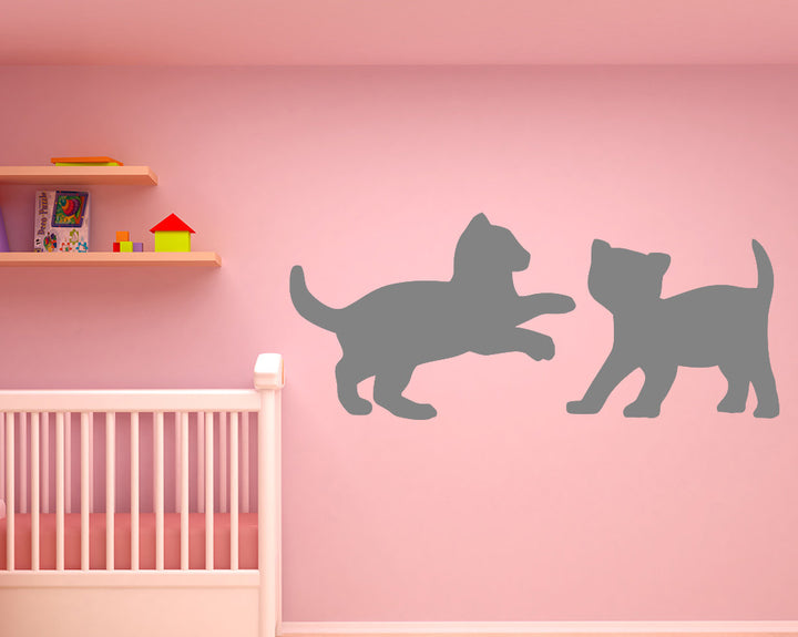Kitten Decal Vinyl Wall Sticker