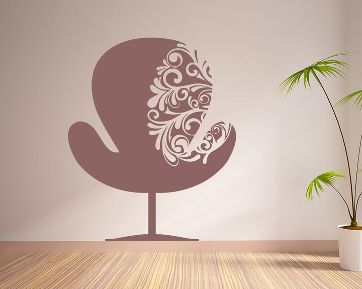 Cool Chair Decal Vinyl Wall Sticker